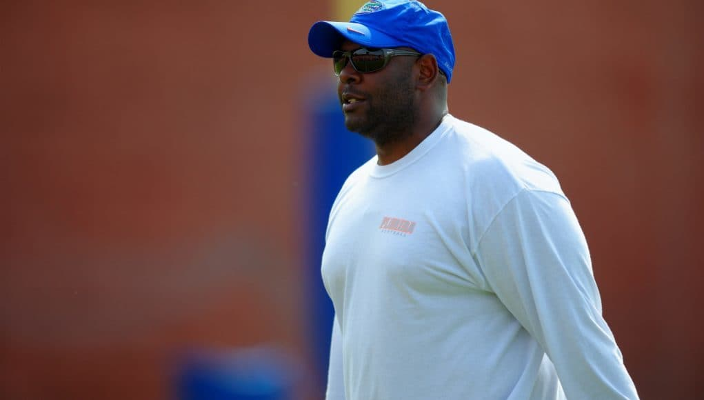 Florida Gators RB coach Tim Skipper