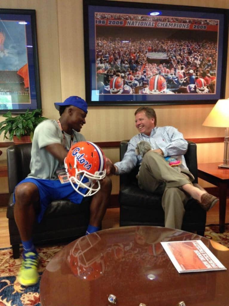 Tyrek Tisdale commits to the Florida Gators/Courtesy of Tisdale