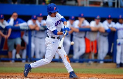 Guthrie's three hits help Florida Gators sweep Fairfield