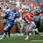 Florida sophomore Chris Johnson in the 2012 Orange and Blue Debut/Gator Country photo by Saj Guevara