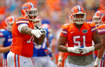 Florida Gators post spring two deep: Offensive line