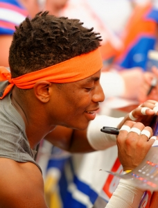 Photo Gallery: Orange and Blue Debut 2015