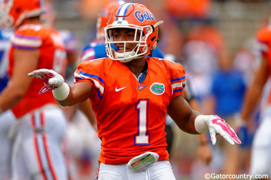 Vernon Hargreaves, Florida Gators, Ben Hill Griffin Stadium, Gainesville, Florida, University of Florida