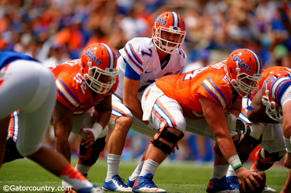 Will Grier, University of Florida, Florida Gators, Ben Hill Griffin Stadium, Gainesville, Florida