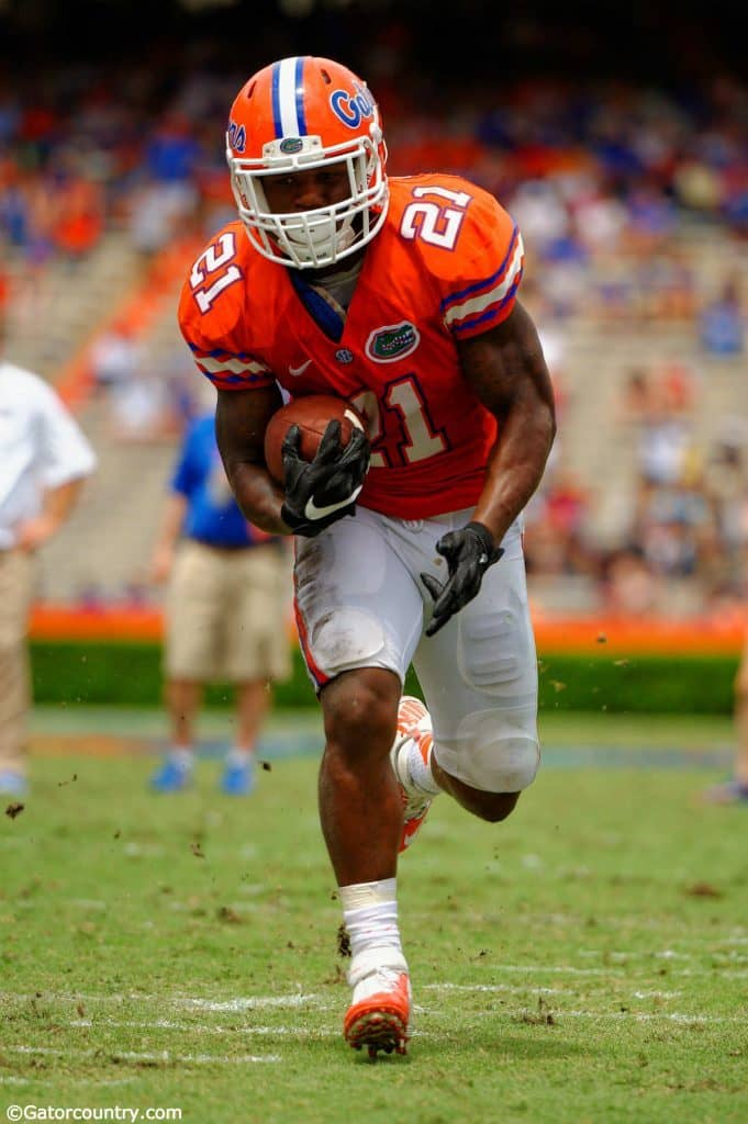 Kelvin Taylor, Ben Hill Griffin Stadium, Gainesville, Florida, University of Florida