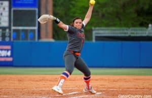 Florida Gators softball pitcher Delanie Gourley