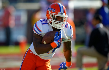 Is Kelvin Taylor ready to lead the Florida Gators?