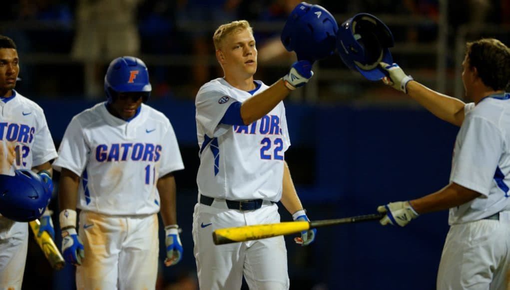 JJ Schwarz, Florida Gators, McKethan Stadium, Gainesville, Florida, University of Florida