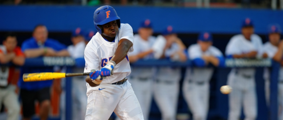 Timely hitting gets Florida Gators win No. 32