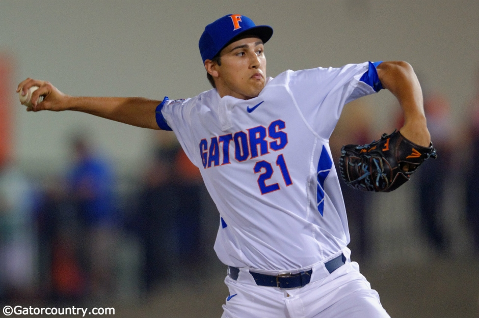 Alex Faedo, Florida Gators, McKethan Stadium, University of Florida, Gainesville