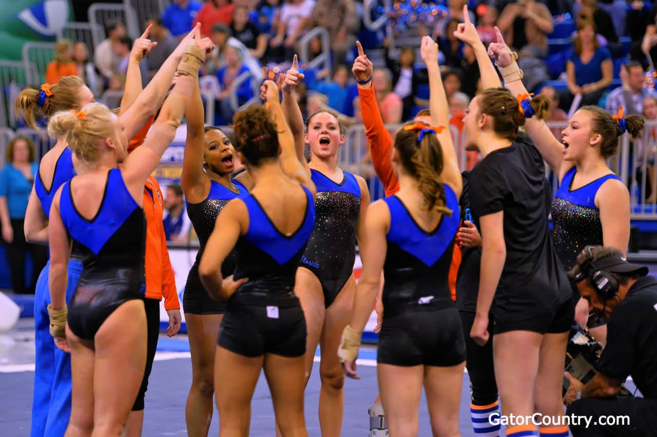 Gators Three Peat as National Champions in gymnastics