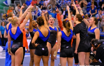 #3 Florida Gators gymnastics defeats #5 UCLA