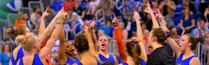Gators Three Peat as National Champions in gymnastics