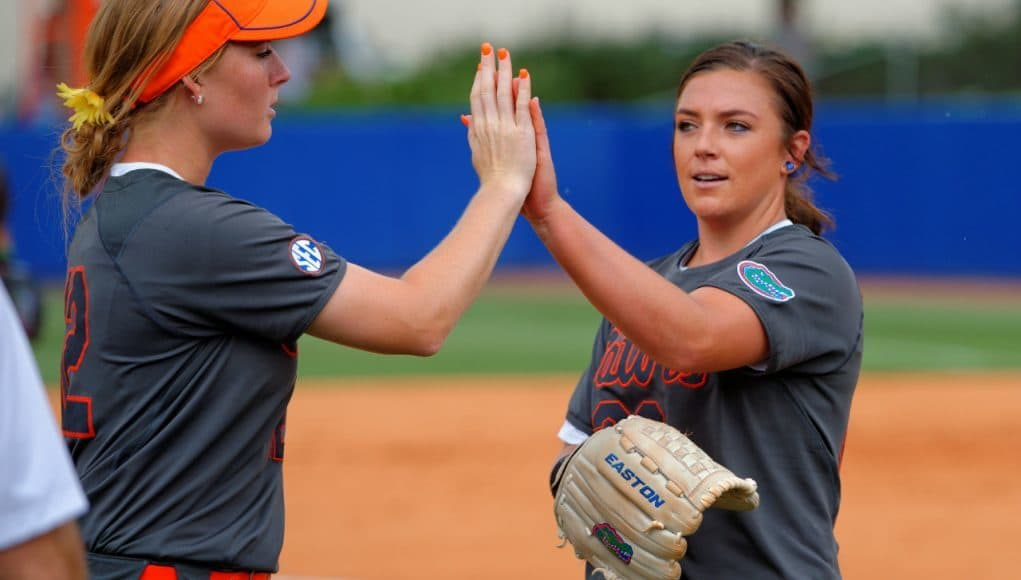 Florida Gators softball pitcher Delanie Gourley