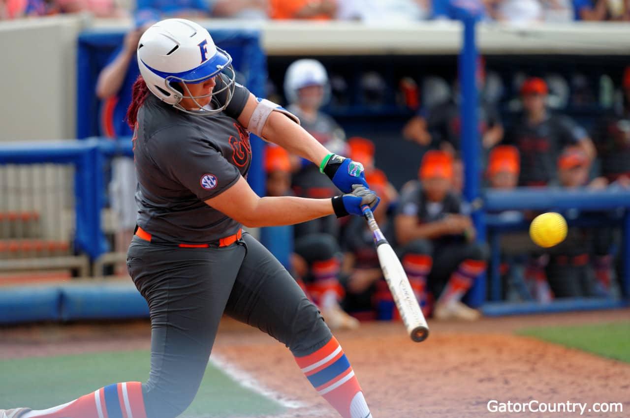 Lauren Haeger sets the home run record