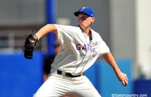 A.J. Puk, Florida Gators baseball, McKethan Stadium, Gainesville, Florida, University of Florida