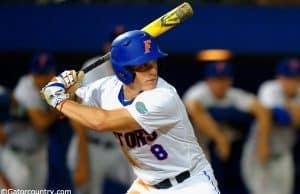 Harrison Bader, Florida Gators, Florida Gators baseball, McKethan Stadium, Gainesville, Florida