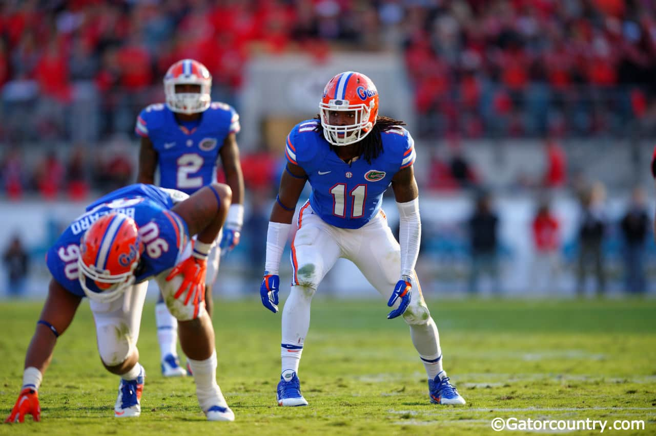 Neiron Ball, University of Florida, Gainesville, Florida, Ben Hill Griffin Stadium