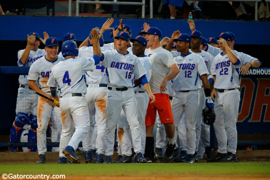 Florida Gators, McKethan Stadium, Gainesville, Florida, University of Florida, Harrison Bader