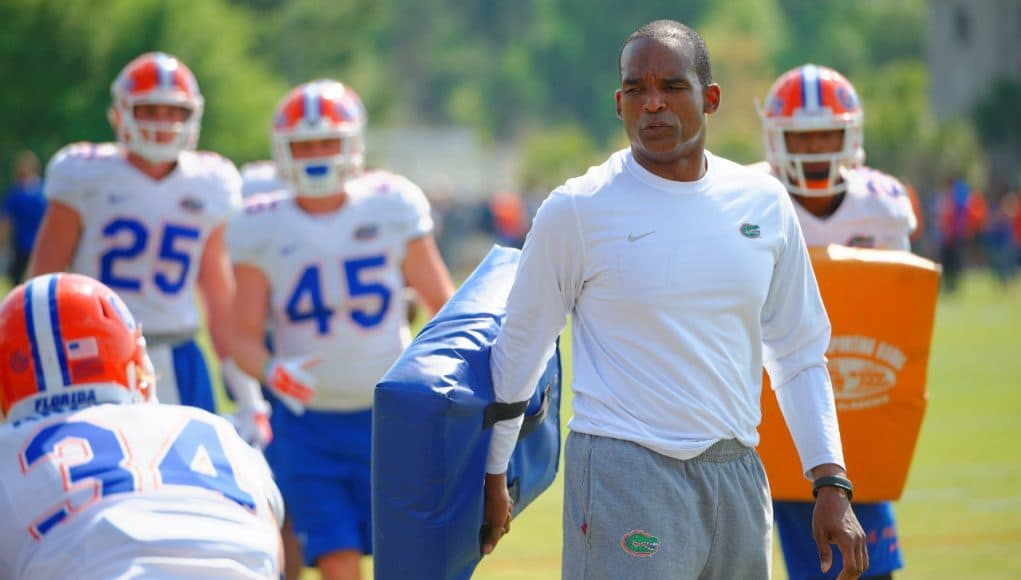 Florida Gators linebackers coach Randy Shannon- Florida Gators recruiting