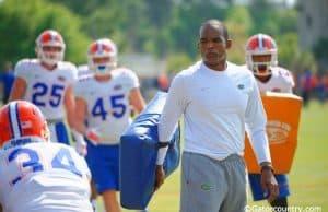 Florida Gators linebackers coach Randy Shannon- Florida Gators recruiting