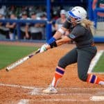 Kayli Kvistad had a big home run on Thursday/David Bowie