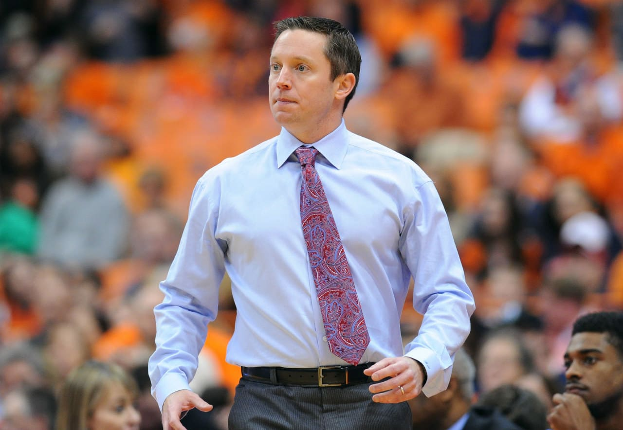 Florida Gators basketball coach Mike White