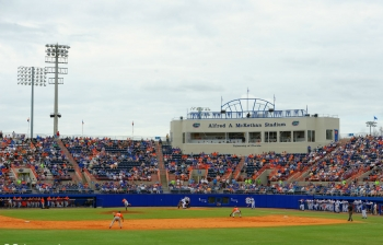 Florida Gators second Super Regional game suspended until Monday