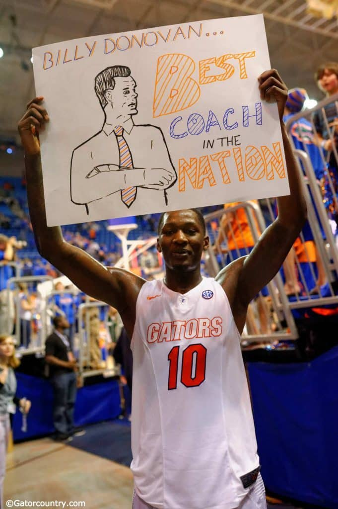 Dorian Finney-Smith, Billy Donovan, Florida Gators, University of Florida, Gainesville, Florida