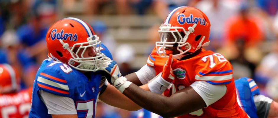 Florida Gators return a lot on the offensive line
