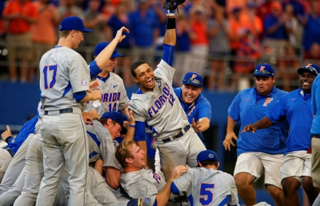 VIDEO: Florida Gators Baseball Celebrate an Omaha Berth