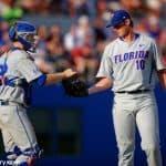 A.J. Puk, JJ Schwarz, Florida Gators, McKethan Stadium, University of Florida, Gainesville, Florida