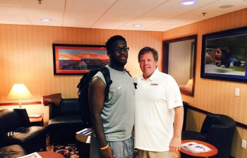 Antwuan Jackson has interest in the Florida Gators