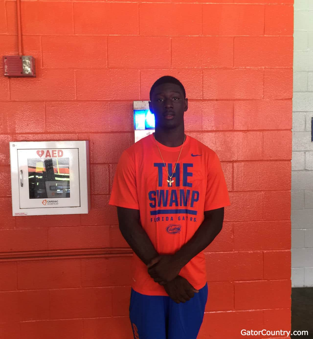 Cavin Ridley on his Florida visit/ Andrew Spivey