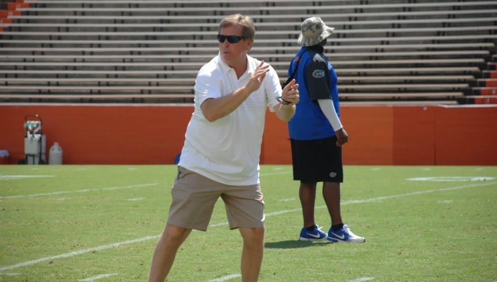 Florida Gators head coach Jim McElwain- Florida Gators Recruiting