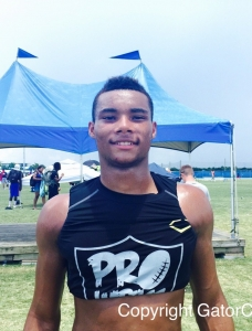 Demetris Robertson Doubly Wanted with the Florida Gators