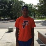 Isaiah Johnson at Florida Gators camp/Andrew Spivey