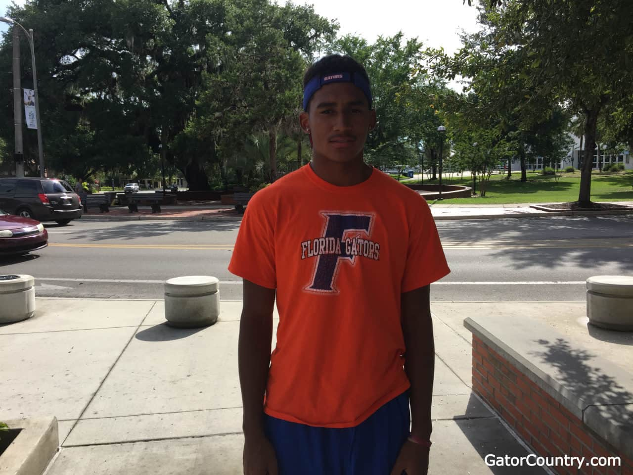 Florida Gators tight end commit Isaiah Johnson visits the Florida Gators in June- 1280x960- Florida Gators Recruiting