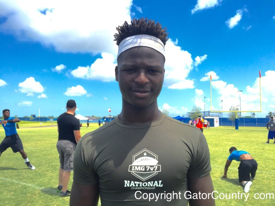 Jayvaughn Myers, IMG Academy, University of Florida, Gainesville, Florida