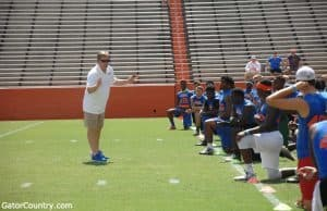 Florida Gators head coach Jim McElwain- Florida Gators Recruiting