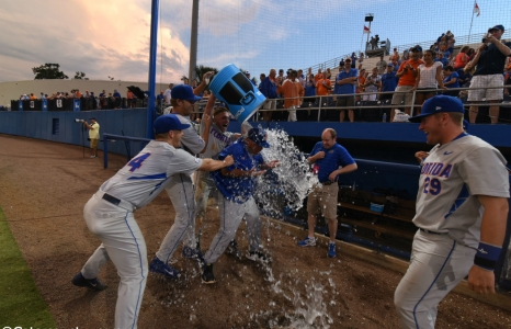 Seminoles conquered; Florida Gators on to Omaha