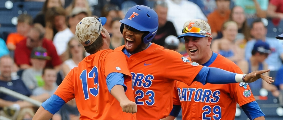 Four home runs power Florida Gators past Canes