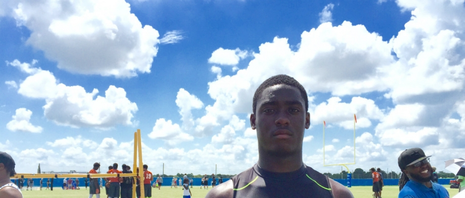 Vosean Joseph Shows No Fear in His Firm Florida Commitment