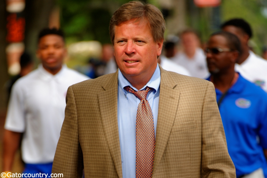 Florida Gators football coach Jim McElwain takes part in Gator Walk in 2015- 1280x852- Florida Gators Football