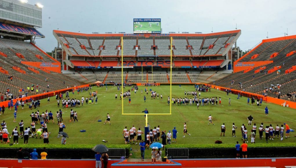 Florida Gators hosted hundreds of prospects for Friday Night Lights 2015- 1280x852- Florida Gators Recruiting