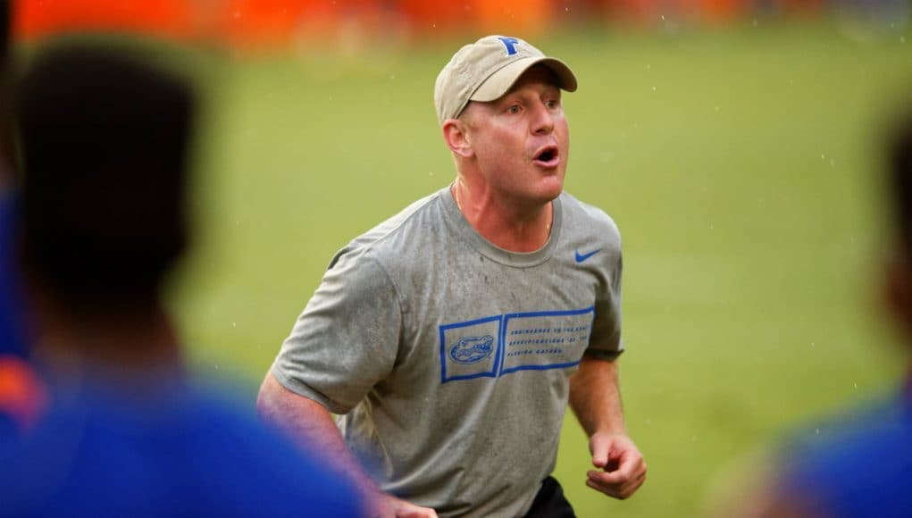 Florida Gators football defensive backs coach Kirk Callahan at Friday Night Lights- 1280x854- Florida Gators Recruiting