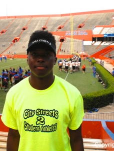 Blocker looks to land Florida Gators offer