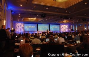 SEC Media Days in Birmingham, Alabama on July 16th, 2015- 1280x850- Florida Gators Football