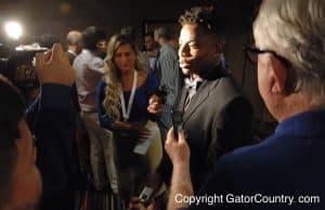 Florida Gators cornerback Vernon Hargreaves III speaks at SEC Media Days 2015- 1280x850- Florida Gators Football