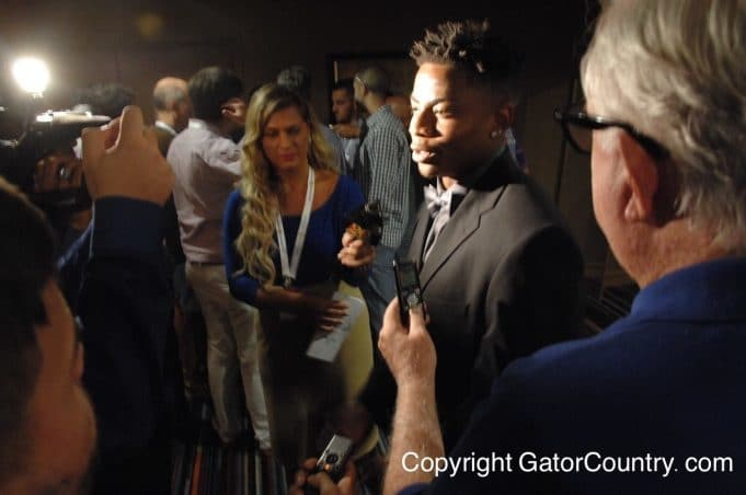 Florida Gators cornerback Vernon Hargreaves III speaks at SEC Media Days 2015- 1280x850- Florida Gators Football